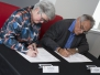 Cohort Signing Ceremony with U of C, March 28, 2018