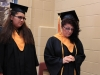 Valedictorians Elizabeth Gould and Rose Offenloch
