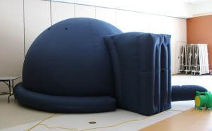 The Portable Planetarium ready to go.